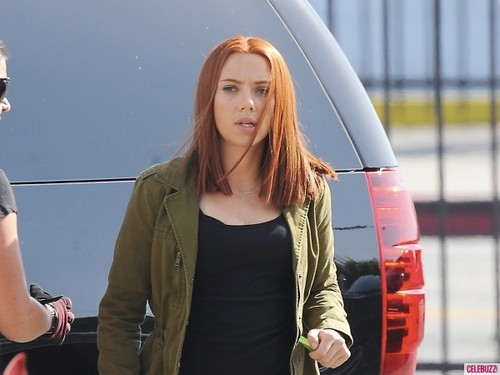 Filming Captain America: The Winter Soldier