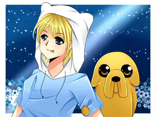 Adventure Time With Finn and Jake wallpaper with anime called Finn & Jake