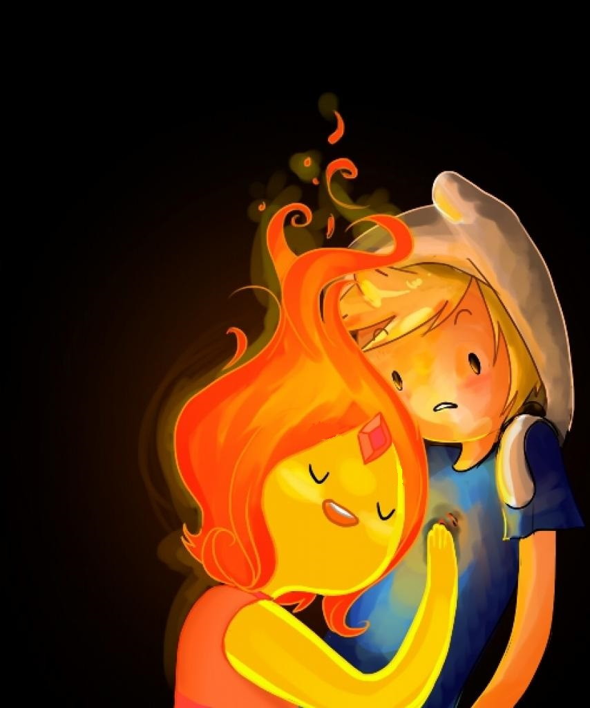 adventure time is finn dating flame princess Cartoons adventure time with finn and jake follow/fav a little surprise by: portalfan4351 one night, when finn and flame princess are hanging out.