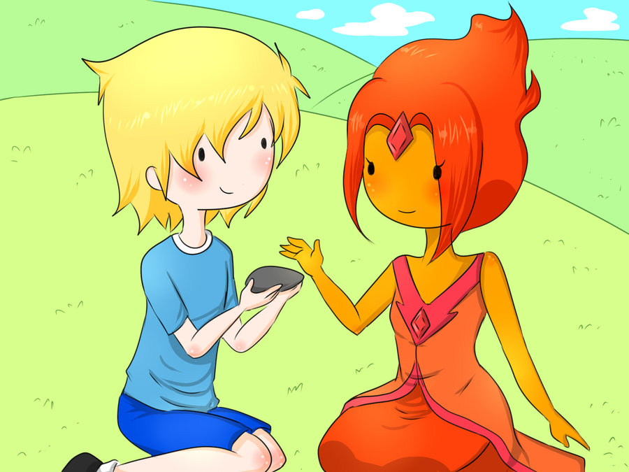 Adventure Time Couples images Finn and Flame Princess HD wallpaper and ...