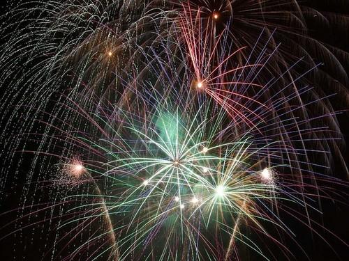 Firework fotografia