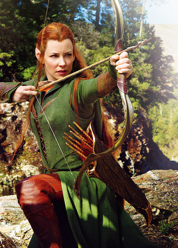 First look at Tauriel in The Hobbit: The Desolation of Smaug