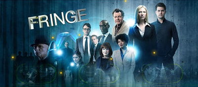 Fringe fond d'écran probably containing a concert, a business suit, and a fontaine titled Fringe Season 1-5
