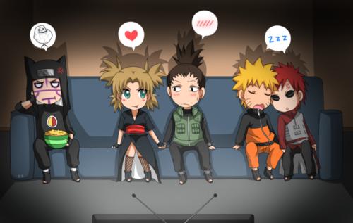 Gaara x Naruto