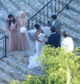 Gaga at her friend Bo's wedding in Mexico - lady-gaga photo