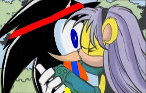 Goku and Mina: Mina's Kiss