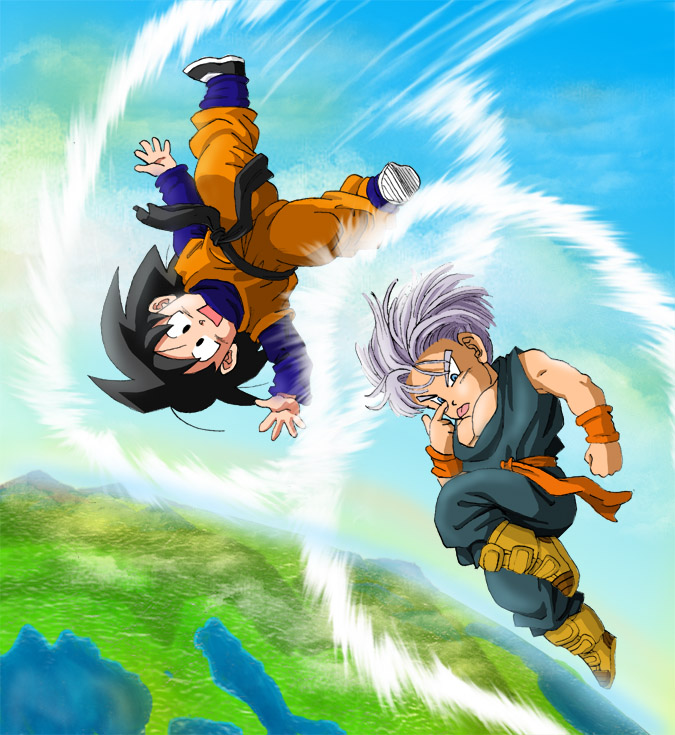 dragon ball z immagini goten and trunks hd wallpaper and background