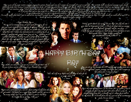 Leyton Family<3 wallpaper probably with a konser entitled HAPPY BIRTHDAY sinar, ray FROM THE LPF !!! <3