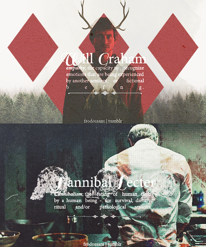 Hannibal Lecter & Will Graham