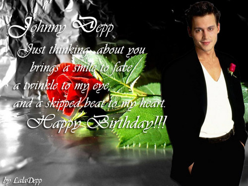 Happy Birthday Johnny!!! ♥
