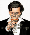 Happy birthday Johnny!!! - johnny-depp fan art