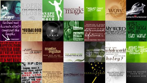 Harry Potter icon set