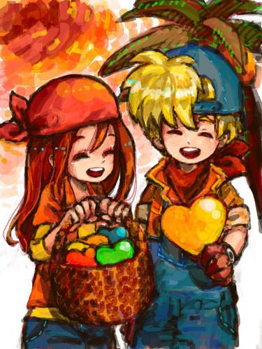 Harvest Moon. <3