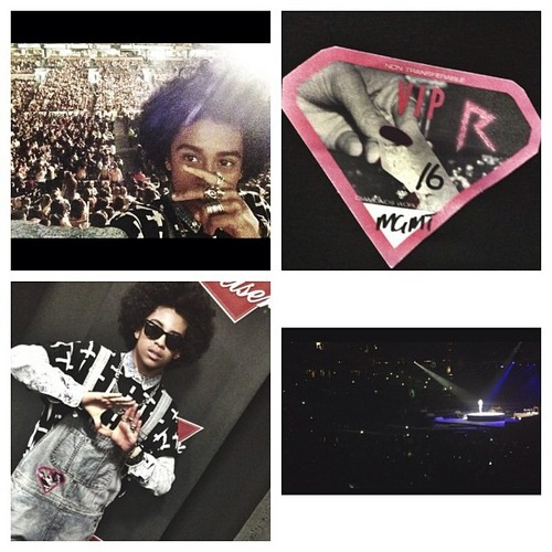 He want to Rihanna's 音乐会 in Boston was a #SMASH!!!! :D B) <3 ;) :* :) ; { )