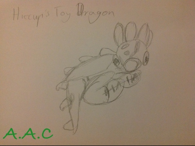 Hiccup's Toy Dragon