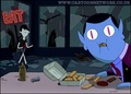Hunson eats Marceline's fries - adventure-time-with-finn-and-jake photo
