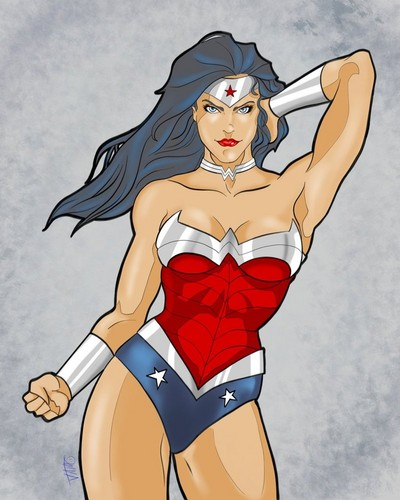 Hot Wonder Woman