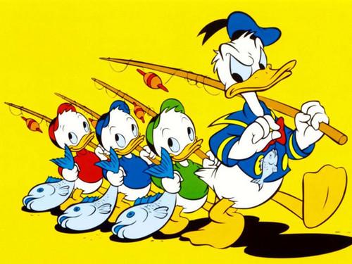 Huey,Dewey,Louie & Donald 오리