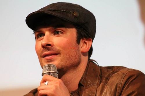 Ian at Love&Blood ItaCon (May 2013)