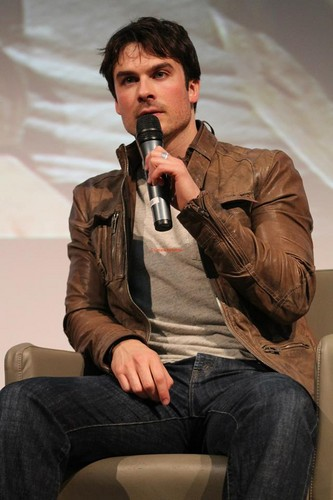 Ian at Love&Blood ItaCon (May 2013)
