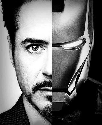 Robert Downey Jr. achtergrond called Iron Man