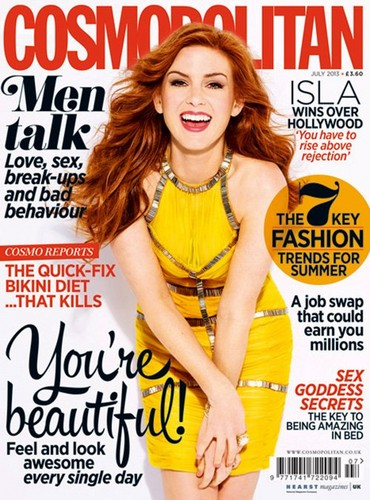 Isla Fisher// Cosmopolitan UK July 2003