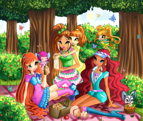 It's picnic time - the-winx-club Photo