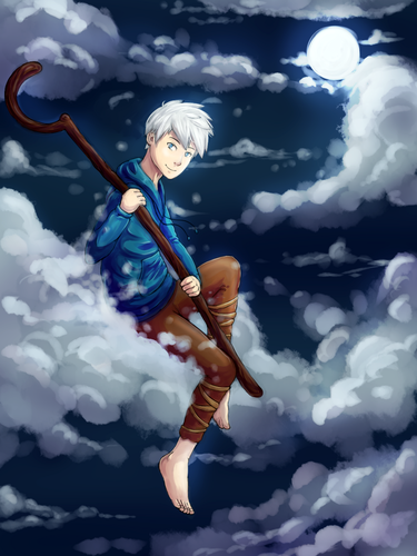 Childhood Animated Movie heroes wallpaper titled Jack Frost