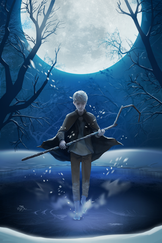 Childhood Animated Movie Heroes wallpaper possibly containing a water called Jack Frost