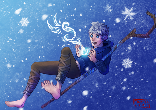 Jack Frost - Rise of the Guardians wallpaper entitled Jack Frost
