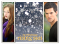 Jacob and Renesmee Rising Sun