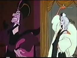 Jafar and Cruella De Vil