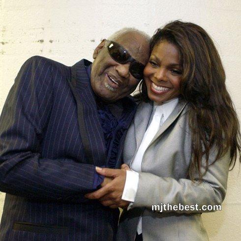 Janet Jackson and 線, レイ Charles