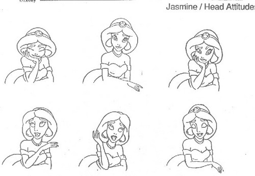 jasmijn Model Sheet