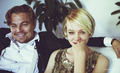 Jay and Daisy behind scenes - the-great-gatsby-2012 photo