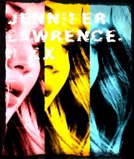 Jennifer Lawrence Fanart, oleh me. :) Xxx