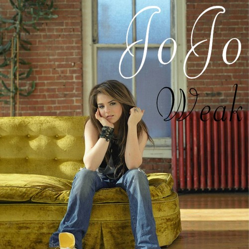 JoJo Levesque wallpaper possibly with a sign, a park bench, and a cocktail dress called JoJo - Weak