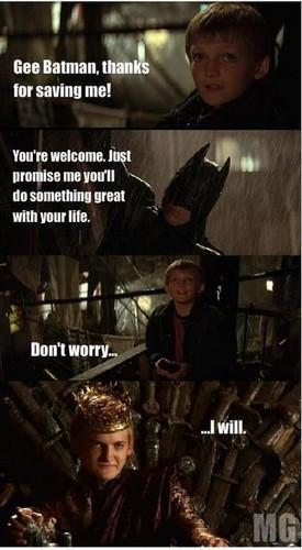 Joffrey's promises