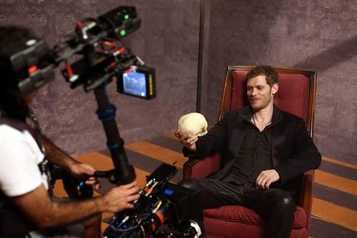 Joseph morgan at The Originals Photoshoot
