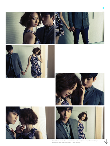 Jinwoon And Junhee Photoshoot