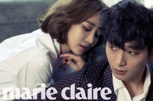 "Jung Jinwoon & Go Jun Hee for ""Marie Claire"" 2013"