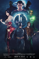 Justice League (FAN-MADE) Movie Poster - dc-comics fan art