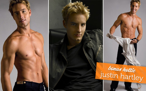 Justin Hartley wallpaper containing a hunk, a six pack, and skin entitled Justin♥