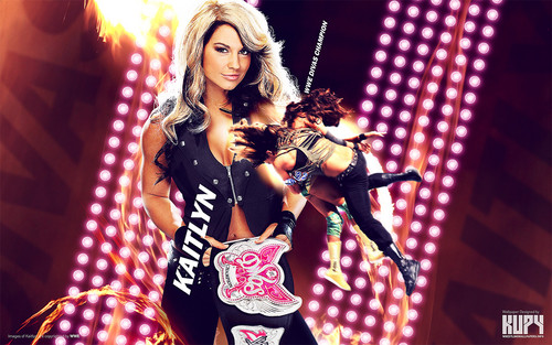 WWE wallpaper possibly containing a concert called Kaitlyn - Divas Champion