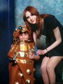 Karen with a little Dalek