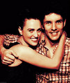 Katie and Colin Photobooth 2012 - merlin-on-bbc fan art