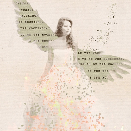 Katniss Everdeen wallpaper probably containing a bridesmaid, a dinner dress, and a gown called Katniss