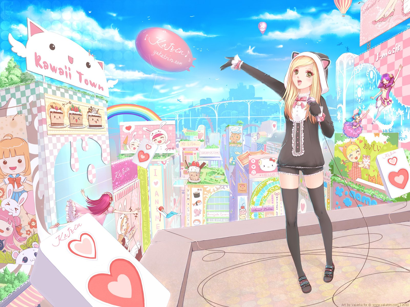 kawaii anime images kawaii girl hd wallpaper and