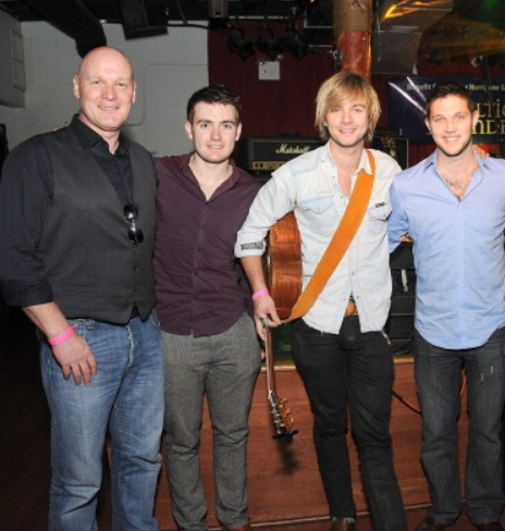 Keith performing with Celtic Thunder for Hurricane Sandy Victims