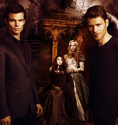 Klaus&Caroline // Elijah&Katerina